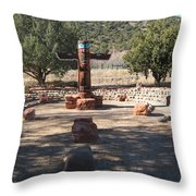 Southwest Art Throw Pillow