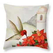 Southwest Christmas Throw Pillow