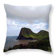 Southwest Coast Of Maui Throw Pillow