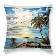 Southwest Florida Throw Pillow