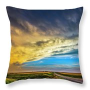 Southwest Nebraska Chase Day 046 Throw Pillow
