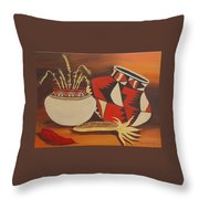 Southwest Pottery Throw Pillow