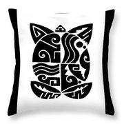 Southwest Tribal Tortuga Throw Pillow