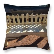 Southwestern Style Bench Throw Pillow