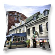 Souvenirs Montreal Throw Pillow