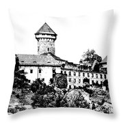 Sovinec - Castle Of The Holy Order Throw Pillow
