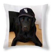 Sox Fan Throw Pillow