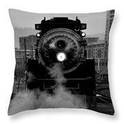 Sp 4449 - Bw Throw Pillow