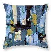 Spa Abstract 2 Throw Pillow