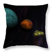 Space 01-26-10 Throw Pillow