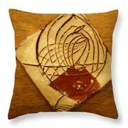 Space Cowboy - Tile Throw Pillow