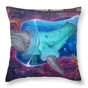Space Dream Throw Pillow