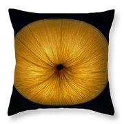 Space Flower Throw Pillow