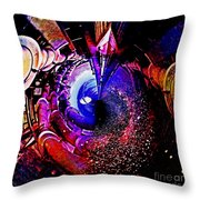 Space In Another Dimension Throw Pillow