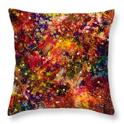 Space Junk Throw Pillow