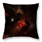 Space Nebula 2 Throw Pillow