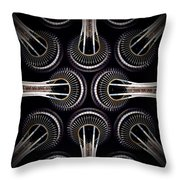 Space Needle Complex Throw Pillow