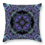 Space Ornament Throw Pillow