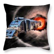 Space Pirates Throw Pillow
