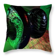 Space Reflections Throw Pillow