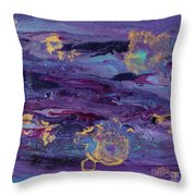 Space Royalty Throw Pillow