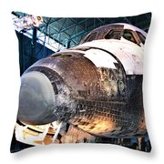 Space Shuttle Discovery View No. 2 Throw Pillow