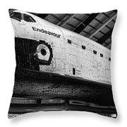 Space Shuttle Endeavour 2 Throw Pillow