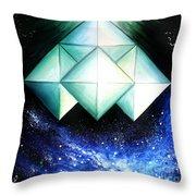 Space Shuttle Of Alien Civilization. High-speed Throw Pillow