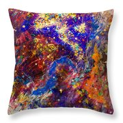 Space Stars Throw Pillow