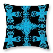 Space Station Repair Mission Throw Pillow
