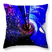 Space The Other Dimension Throw Pillow