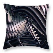Space Time Location Throw Pillow