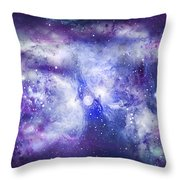 Space009 Throw Pillow