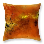 Space012 Throw Pillow