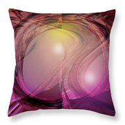 Spacebase Throw Pillow