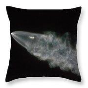 Spacex Iridium Flight 4 Throw Pillow