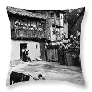 Spain: Bullfight Throw Pillow