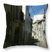 Spain One Way Throw Pillow