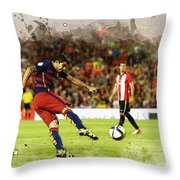 Spain Spanish Super Cup Throw Pillow