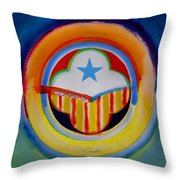 Spanish American Throw Pillow