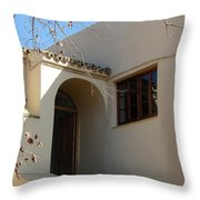 Spanish Archway Throw Pillow