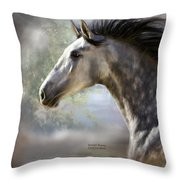 Spanish Beauty Throw Pillow