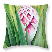 Spanish Dagger II Throw Pillow