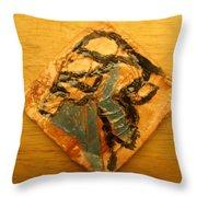 Spanish Dream - Tile Throw Pillow