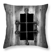 Spanish Fort Window Throw Pillow