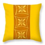 Spanish Gold Rectangle Throw Pillow