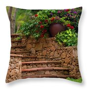 Spanish Retreat Throw Pillow