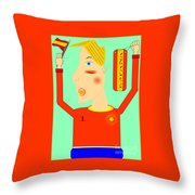 Spanish Selection Throw Pillow