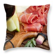 Spanish Tapas Throw Pillow