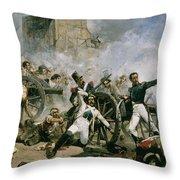 Spanish Uprising Against Napoleon In Spain Throw Pillow